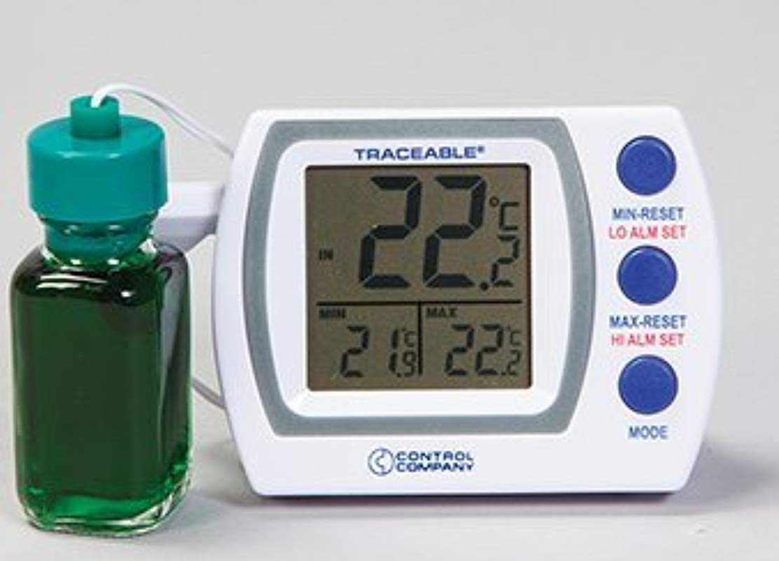 Quality IZ Calibrated Traceable Refrigerator Or Freezer Room Temp Thermometer