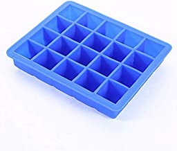20 Grids Silicone Ice Cube Tray Stackable Easy Release Ice Cube Mold Ice Cream Maker for Party Bar Whiskey Cocktail Cold D...