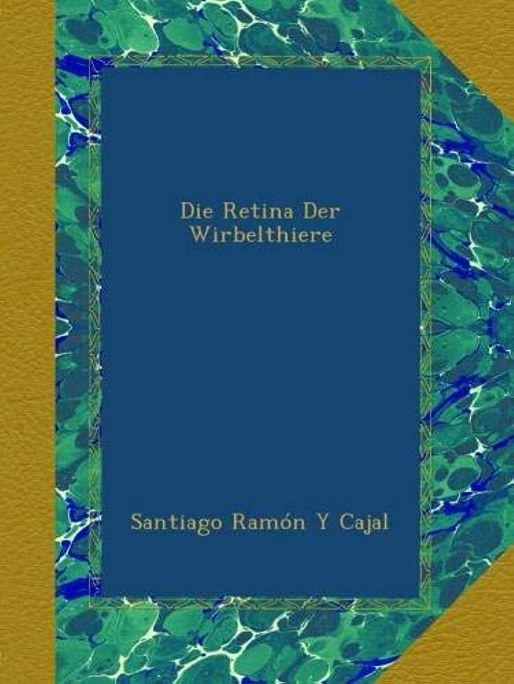 外観犯す大きいDie Retina Der Wirbelthiere