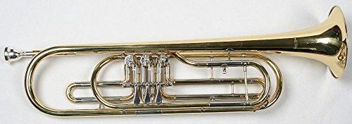 Karl Glaser Bass Trompete, Basstrompete + Mundstück + Koffer, Neu