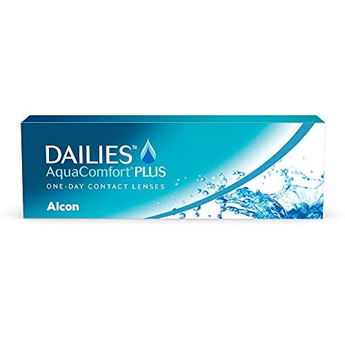 DAILIES AquaComfort Plus 1-Tages-Kontaktlinsen, 30 Stück, BC 8.7 mm, DIA 14.0 mm, -1.25 Dioptrien