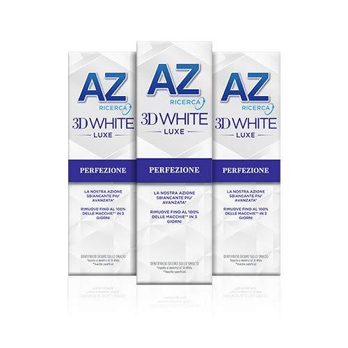 AZ Dentifricio 3D White Luxe Perfezione con Azione...
