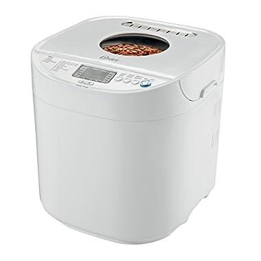 Oster Expressbake Bread Machine, 2 Pound, White (CKSTBRTW20-NP)