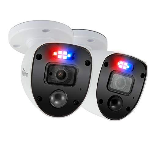 Swann SWPRO-1080SLPK2-EU - Cámara CCTV analógica Full HD CCTV 1080p Enforcer Bullet, Blanco - 2 Paquet