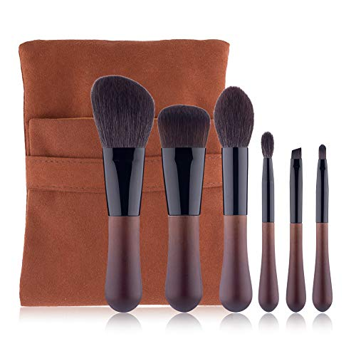 6 Pcs Premium Synthetic Foundation Brush Blending Visage Correcteur Eye Cosmétique Poudre Blush Kits