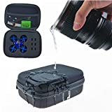 Blade Inductrix Case Quad Box with Foam Liner Zip for FPV Micro Quadcopter JJRC H36 Eachine E010 Waterproof Battery Case