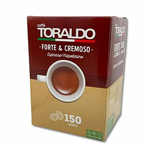 150 CIALDE CAFFE TORALDO MISCELA FORTE E CREMOSO