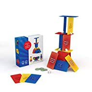 StrongSuit - The Tower of Self Esteem, Family Therapy Card Game for Kids, Teens, Boost Self Confidence and Social Skills with Creativity, Problem Solving - Used by Therapists and Parents, 2-5 Players