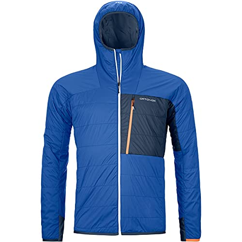 ORTOVOX Herren Swisswool Piz Duan Jacke, Just Blue, XL