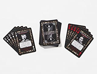 murder playing cards