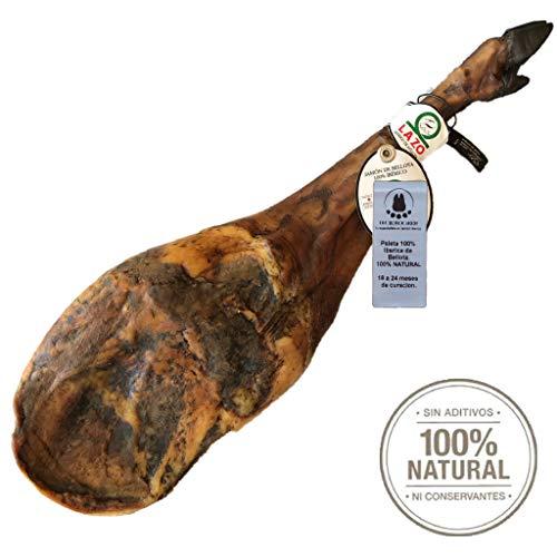5 Kg Pata Negra 100% Iberico Schinken BELLOTA - Von mit Eicheln gefütterten Iberico-Schweinen und...