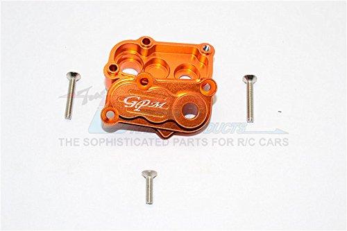 Axial SCX10 II Upgrade Pièces (AX90046, AXI90075) Aluminium Transfer Case - 2Pcs Set Orange