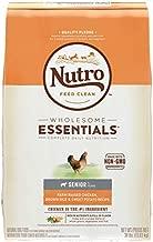 NUTRO WHOLESOME ESSENTIALS Senior Natural Dry Dog Food Farm-Raised Chicken, Brown Rice & Sweet Potato Recipe, 30 lb. Bag