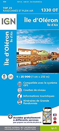 Île d`Oléron 1 : 25 000: Ile d'Aix (TOP 25)