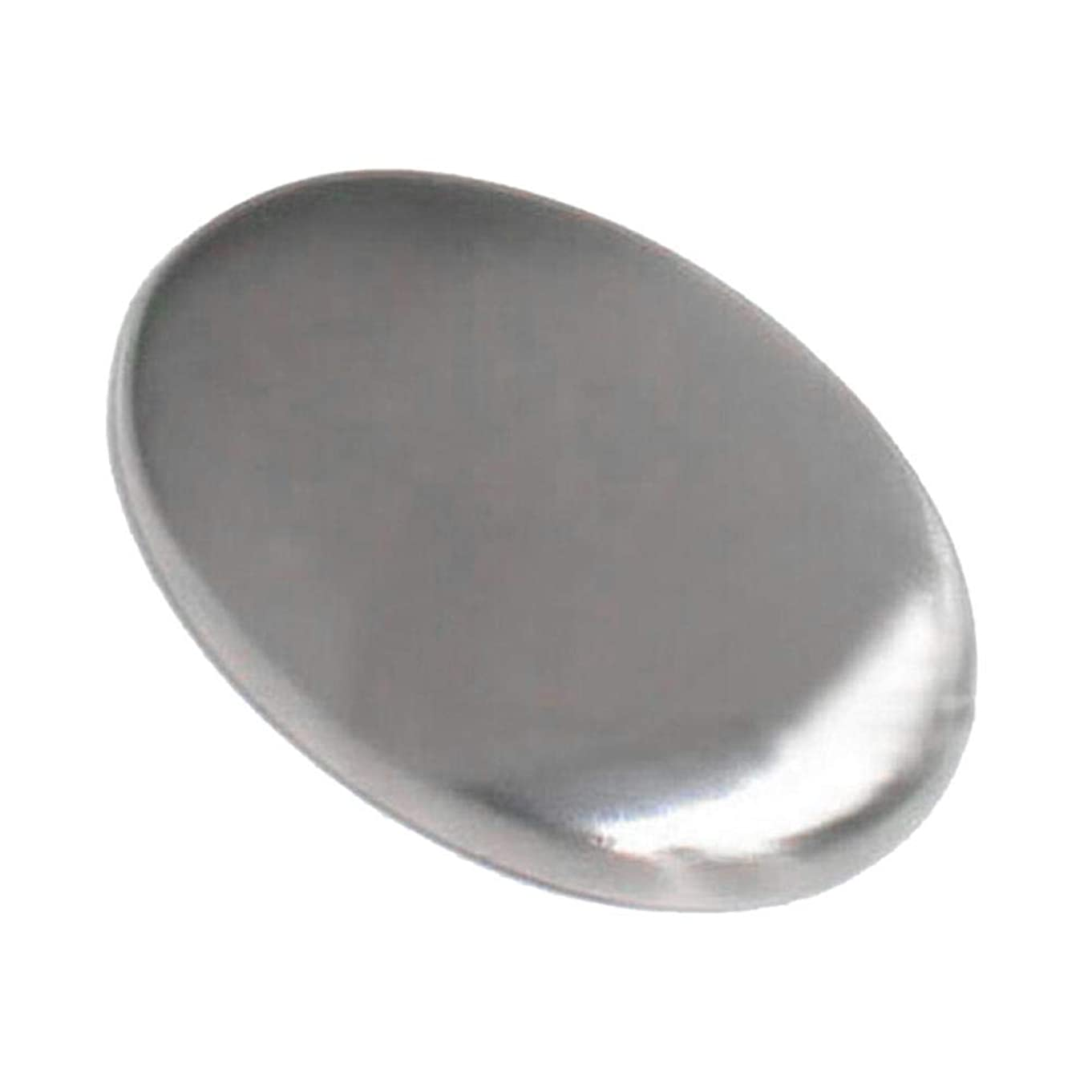 忘れられないブロック航空会社Hillrong ステンレスソープ ステンレス石鹸 においとりソープ 円形 臭い取り 異臭を取り除く 台所用具