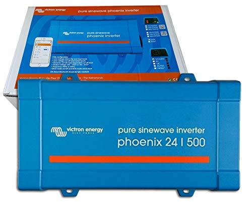 Inversor Onda Pura 24V 500VA Victron Energy Phoenix 24/500 VE.Direct Schuko | Aplicaciones Solares o Automoción