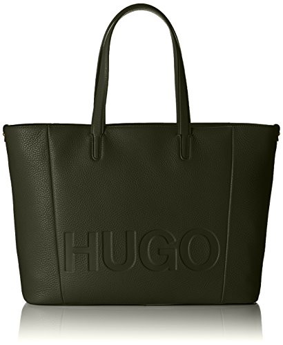 HUGO Damen Mayfair Shopper Tote, Grün (Medium Green), 15 x 29 x 44 cm
