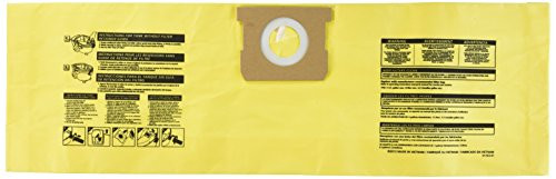 Shop-Vac 91964 Genuine Type D, All-around Plus Collection Bag, Pack of 2 High Efficiency Filter Bags
