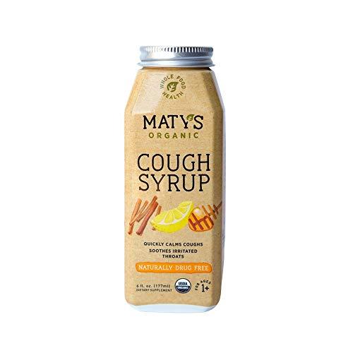 Matys Organic Cough Syrup, 6 Fluid Ounce Each (2)