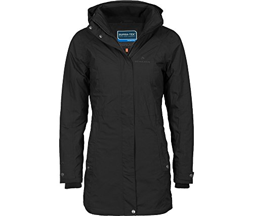 Bergson Damen Funktions-Wintermantel KARAMIA, Black [900], 36 - Damen