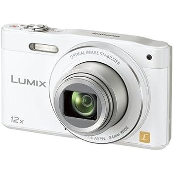 パナソニック デジタルカメラ ルミックス SZ8 光学12倍 ホワイト DMC-SZ8-W