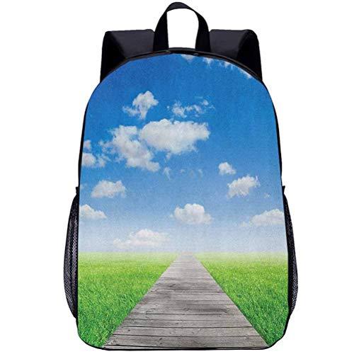 Printing Backpacks, Country, Kindergarten Cute Cartoon Schoolbag, 16 inch