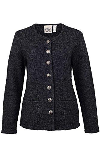 Stützle Damen Damen Walk-Jacke anthrazit, Anthrazit, 42