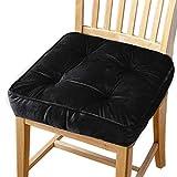 Big Ant Sitzkissen - Stuhlkissen aus 100% Baumwolle mit Bändern für Innen- und Außenbereich...