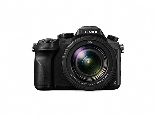 PANASONIC LUMIX FZ2500 4K Point and Shoot Camera, 20X LEICA DC Vario-ELMARIT F2.8-4.5 Lens, 21.1 Megapixels, 1 Inch High Sensitivity Sensor, DMC-FZ2500 (Renewed)