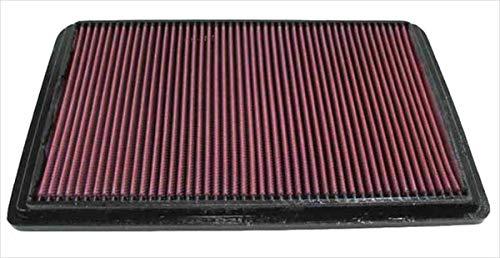 K&N 33-2164 Filtre à Air du Moteur: Haute Performance, Premium, Lavable, Filtre de Remplacement, Plus de Pouvoir, 2008-2017 (Pajero, Pajero III, Pajero IV, Pajero Classic, Shogun, Montero)