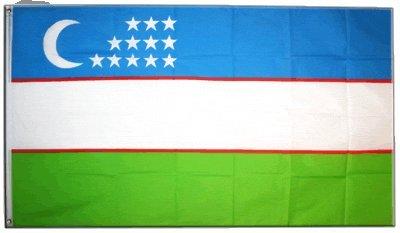 Flagge Usbekistan - 90 x 150 cm