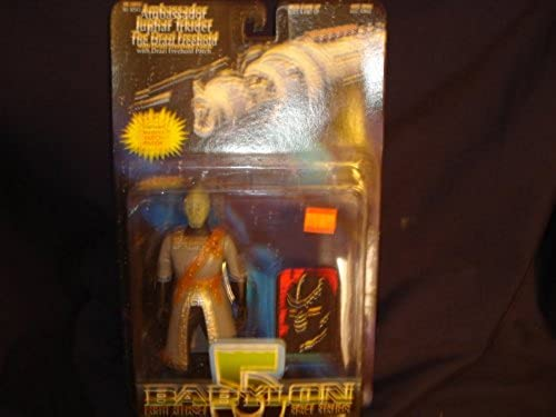 Babylon 5 - Ambassador Juphar Trkider - The Drazi Freehold with Drazi Freehold Patch by N2 Toys