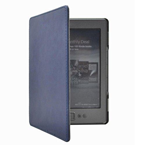 jamicy Universal piel funda Cover Skin para Kindle 4y 5(Kindle 4y Kindle 5ª) 6inch