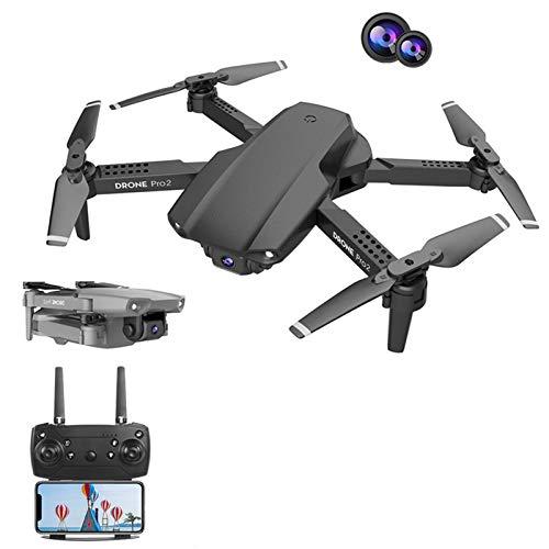RUIMING E99Pro 4K HD Mini Drone Câmera Dupla Grande Angular WiFi Fpv Transmissão em Tempo Real Drone Profissional Altitude de Pressão de Ar Mantenha Quadcóptero RC Dobrável Para Adultos / Iniciantes