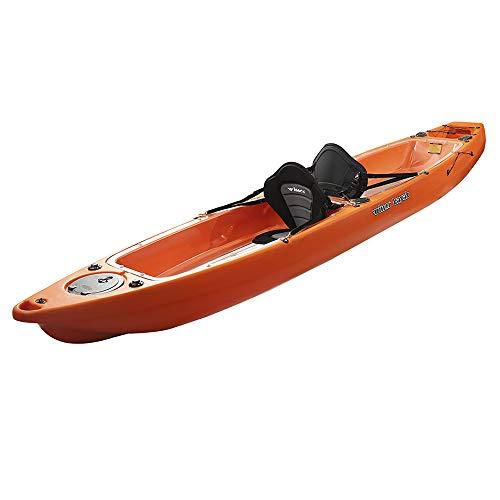 Devessport – Kayak VUE 3 | Kayak per 2 persone tipo sito on Top – autoriscaldabile | Fondo piatto | Peso massimo 230 kg