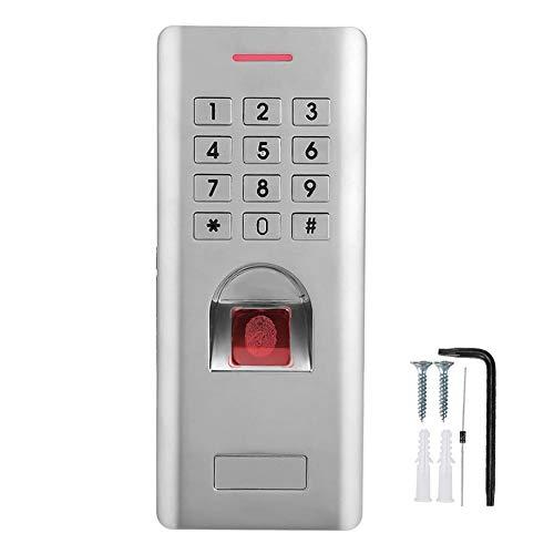 Fingerabdruck-Zugangskontrolle mit Wiegand 26-Schnittstelle Metallgehäuse IP66, wasserdicht, biometrisch + Passwort-Tür-Controller