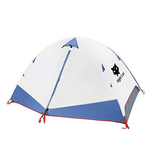Ruckzuck Zelt 2 Personen Mann Wasserdicht Zelt Leicht Camping Atmungsaktiv Einfache Einrichtungs für Outdoor Wandern Doppelschicht