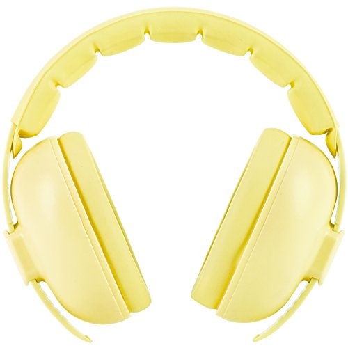 Snug Baby Earmuffs, Best Toddler & Infant Hearing Protection Ages 0-2+ Ear Protection for Babies (Yellow)