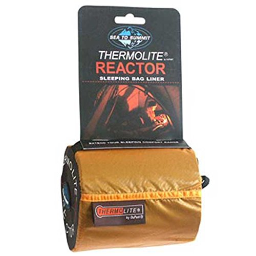 Sea to Summit Thermolite Reactor Mummy - Sacos de dormir - Long negro 2017