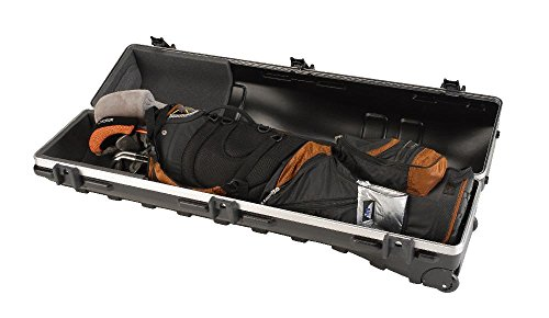SKB Cases ATA Deluxe Standard Hard Plastic Storage Wheeled Golf Bag Travel Case