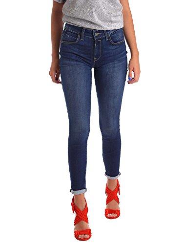 Fornarina Damen Eva-Denim Pant Slim Jeans, Blau (Blue Vr), W26/L30