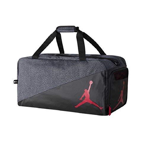 Nike Jordan Jumpman Sports Elemental Duffel Bag (One Size, black/grey)