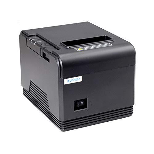 JEPOD XP-Q200 80mm USB+Seriale LAN Stampante Termica Auto Cutter mini stampante termica per ricevute xprinter ufficio posizione (Q200 LAN)