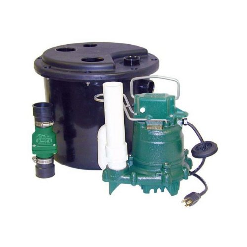 Zoeller 105-0001 Sump Pump, 12.50 x 14.50 x 14.50 inches, 19...