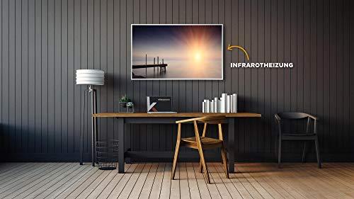 Bildheizung Infrarotheizung mit Digitalthermostat – 5 Jahre Herstellergarantie – Unsere Bild 2*