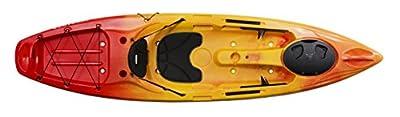 Perception Pescador 10 | Sit on Top Kayak for Adults | Fishing Kayak | 10'