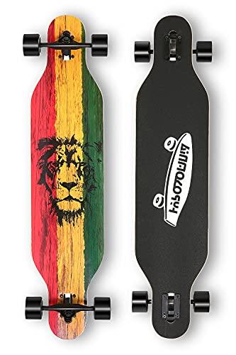 HYPOSOMNIA 41 Inch Longboard Skateboard