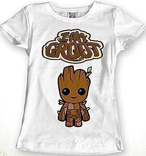 Baby Groot Avengers Blusa Dama Rott Wear