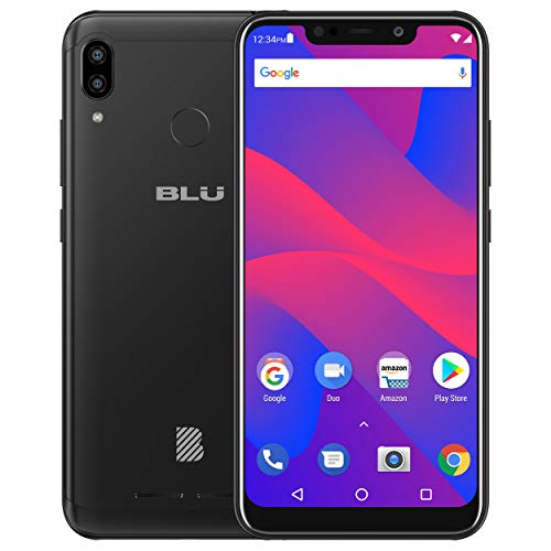 "BLU VIVO XL4 – 6.2"" HD Display Smartphone, 32GB+3GB RAM –Black"