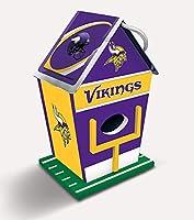 MasterPieces NFL Minnesota Vikings Birdhouse, One Size (91849)